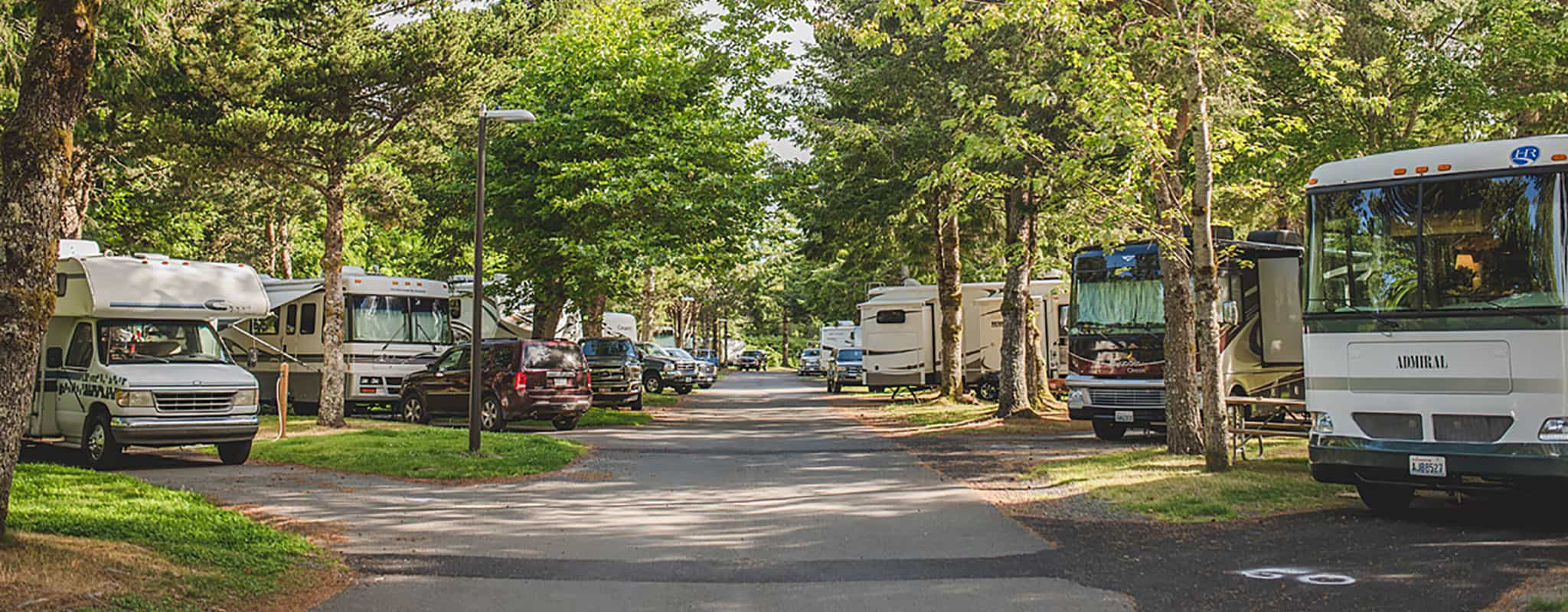 Area & Amenities - Cannon Beach RV Resort